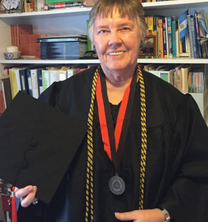 Ann Patton's 62-year dream of a college degree