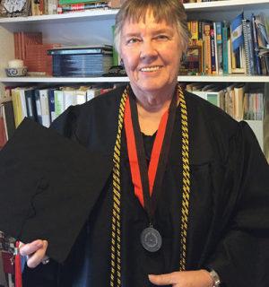 Ann Patton's 62-year dream of a college degree