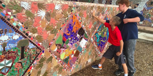Mural Kids! Silver City Children Create Ceramic Murals Around Town